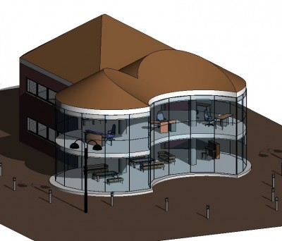 Building Information Modelling - Exterior model