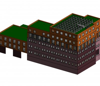 Building Information Modelling - Valiant House Whole Building
