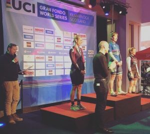 Sally Turner qualifies for the 2017 UCI Gran Fondo World Championships