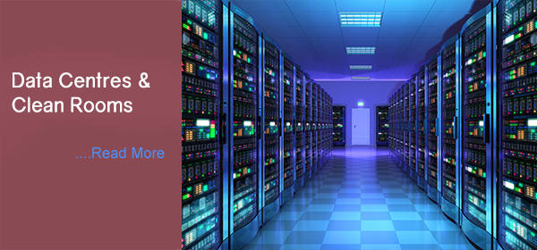 Data Centres & Clean Rooms Portfolio