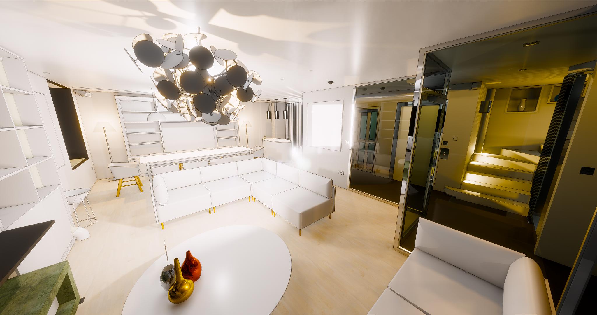Recent 3D Renders - Clarendon Lights