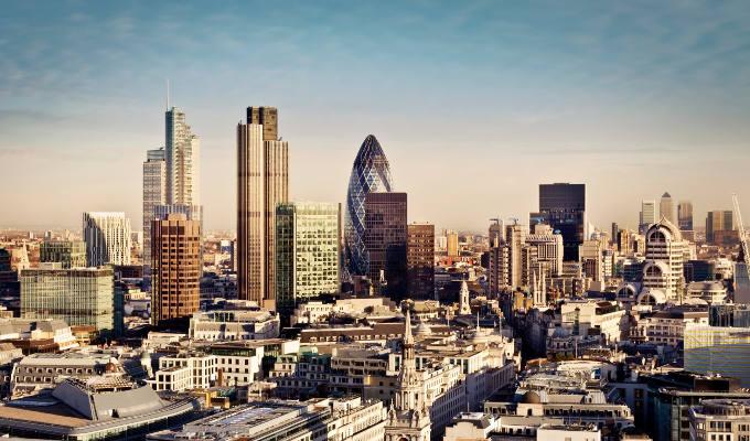 BSE 3D London Skyline